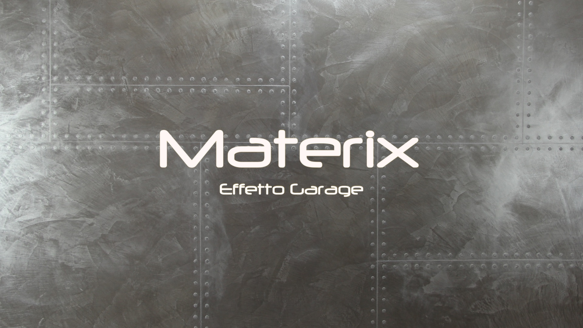Materix effetto garage stucco decorativo naturale - Stucco naturale ...