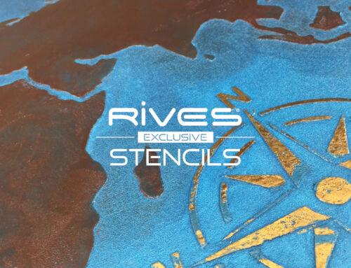 Rives Exclusive Stencil ST 46