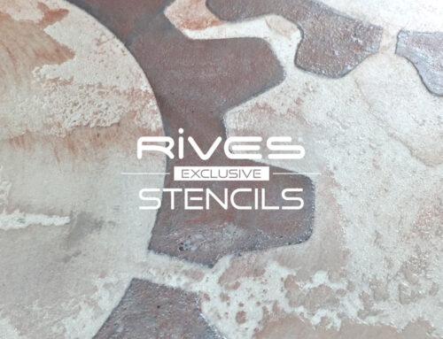 Rives Exclusive Stencil ST 50