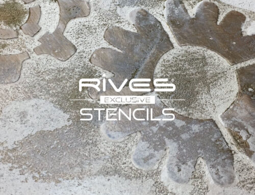 Rives Exclusive Stencil ST 62